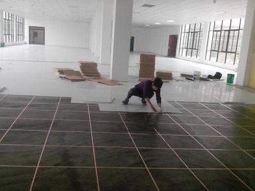 广州防静电地板铺设